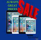 Apple Silver iPad 2,3,4 Air Mini 16GB/32GB/64GB/128GB Cellular & Wi-Fi