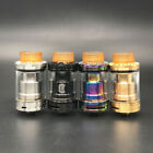 Reload 24mm RDTA RTA Tank Rebuildable A tomizer High Quality Black SS Gold USA
