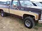 1978 GMC Sierra 1500 High Sierra 15 GMC 350 V8, 1/2 TON 4X4, AUTO TRANS, RUNS & DRIVES GREAT, LOW ORIGINAL MILES!