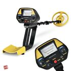Waterproof Beach Metal Detector Kit Search Deep Gold Coil Pinpoin Hunting New