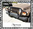 Rampage 7659 Euro Grille Guard 1987-2003 Jeep Wrangler/2004-2006 Wrangler (TJ)