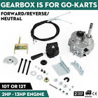 Go Kart Forward Reverse Gear box Fits 2HP-13HP Engine 4 Stroke Hydraulic Gearbox