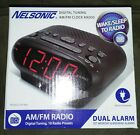 Nelsonic Digital Tuning Am/fm Clock Radio