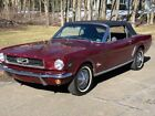 1964 Ford Mustang  1965 ford mustang convertible (64.5) NO RESERVE