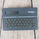 Franklin Spelling Ace SA-98 Electronic Speller Word List Maker Thesaurus 1987