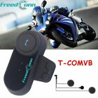 800m Motorcycle Bluetooth Intercom BT Communication System Helmet Soft Headset