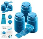 Top Quality 45 Pack Blue Emesis Bags Blue Waste Disposal Bags Travel Boat Motion