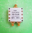 1pc PS-TX-2B 2000-8000MHz One Second SMA RF Coaxial Power Splitter