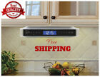 Under Cabinet Radio Bluetooth Speakers Color Silver  System Stereos AC/DC Musics