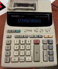 Sharp EL-1801V Portable 12-Digit 2-Color Printer
