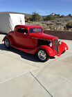 1934 Ford 3 window coupe  1934 Ford 3-window coupe