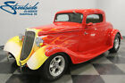 Ford 3 Window Coupe  FORD POWERED 302CI, FIBERGLASS BODY, AOD TRANS, A/C, CLASSIC HOT ROD LOOK!