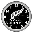 New Zealand All Blacks Rugby Team Wall Clock