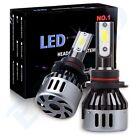 ECCPP Cree LED Headlight COB 9006 1000W 6000K 150000LM Hig/ Low Beam Bulbs