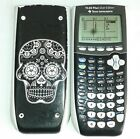Texas Instruments TI 84 Plus Silver Edition Calculator with Skull Case Cover