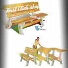 Outdoor Bench Table Flip Top Folding Furniture Patio Picnic Set Yard Benchtable