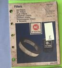AC  filter catalog .          1977.   Item:  9215i