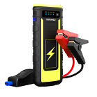 21000mAh 800A Car Jump starter Portable 12V Booster Battery Charger Power Bank