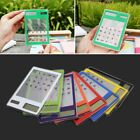Slim LCD 8-Digit Display Clear Touch Screen Solar Calculator For School Office