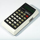 Vintage Electronic Calculator QUALITRON STANDARD MODEL - 1442 Case Space Age Old