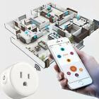 NEW Smart WiFi US Plug Outlet Work Mini Switch APP Remote Voice Control Socket