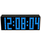 Kitchen Wall Clock Led Digital Alarm Clock Modern Large Table Watch Home Decor