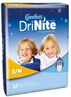Youth Absorb U'wear Comfees DriNite PullOnSmL/Med Dispose Hvy AbsorbCase68