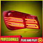 For Chevrolet Cruze Car Replacement Red Clear Rear LED Taillights Lamps Assembly