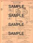 1938 PACKARD MODELS 1606 1607 1608 67 DEGREE VEE TWELVES ORIGINAL WIRING DIAGRAM