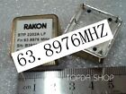 used 1pc OCXO STP2202ALF 63.8976MHZ
