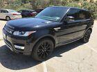2015 Land Rover Range Rover Sport  Matte black rims