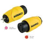 Marinco Straight Adapter 15Amp Straight Male to 30Amp Locking Female Con