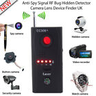 GSM GPS Audio Bug Hidden Camera Detector Finder Anti Spy Tracker Wireless Black