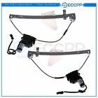 Power Window Regulator for 01-04 Jeep Grand Cherokee Rear Left Right with Motor