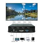 Updated 2x2 TV Video Wall Processor HDMI Matrix Controller Splicer Splitter HQ