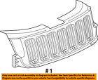 Jeep CHRYSLER OEM 11-13 Grand Cherokee-Grille Grill 55079377AE