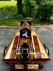 Krier Racing Hydroplane (Wood/Wooden)