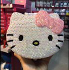 Worldwide Shipping*  Kitty Face Jewelry Boxes S Handmade Crystal Shining 1pc