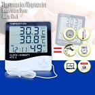 Alarm Clock Thermometer/Hygrometer LCD Display Temperature/Humidity Meter