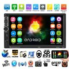 """7"""" Android 6.0 Car Radio Stereo Quad Core 3G WIFI Double 2DIN MP5 Player GPS HM"""