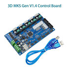 3D MKS Gen V1.4 Printer Controller Board with USB Cable High Quality Lightweight