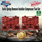 2pc Engine Valve Spring Compressor Remover Installer Tool Kit Set OHV/OHC OY#
