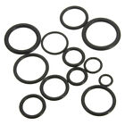 Rubber O-Ring Set For Plumbing Tap Seal Sink Thread Black Assorted Sizes 50pc