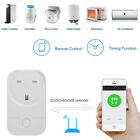 Smart WiFi UK Plug Outlet Socket Switch work with Echo Alexa Google Home Remote