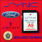 2013-2016 A9 FORD F150 EDGE NAVIGAITION SD CARD ESCAPE, EXPLORER, FUSION,FOCUS