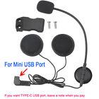 Headset Micphone Headphone+Bracket Clip For BT-S2 Motorcycle Bluetooth Intercom