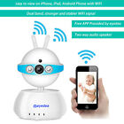 720P Smart PIR Siren WiFi Wireless 2 Way Audio Baby Monitor CCTV Security Camera