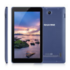 7'' Android 7.0 Tablet PC Quad Core 1+8GB Dual Camera WIFI BT Tablet Pad 1.3GHz