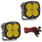 Baja Designs XL80 LED Off Road Light Pair 160W 677815 Amber Wide Cornering