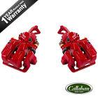 For 2006 - 2012 MAZDA MIATA Rear Red Coated Brake Calipers